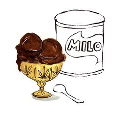 Milo Ice Cream Makes about 1 liter Adapted from Honest Cooking INGREDIENTS 1 1/4 cup milo powder 1 cup whole milk 2 cups heavy cream (> 35% fat) 1/2...