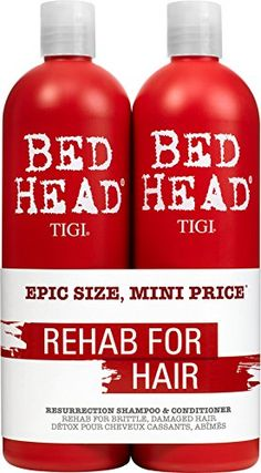 TIGI Bed Head Urban Antidotes 3 Resurrection Shampoo and Conditioner Tween Duo 2 x 750ml ** Visit the image link more details. Note:It is affiliate link to Amazon.