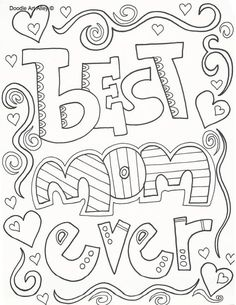 Top 20 Free Printable Mothers Day Coloring Pages Online Sunday