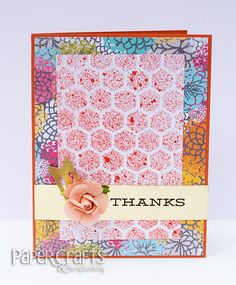Kesti Groovin' with the Go to Gals: Step up Hexagons Scrapbook Blog, Scrapbook Paper Crafts, Scrapbooking Layouts, Paper Crafting, Cool Cards, Diy Cards, Shabby Chic Cards, Cardmaking And Papercraft, Distress Ink