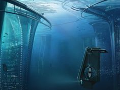 Gorgeous Art Shows What Life Would Be Like in Cities Beneath the Sea #atlantis