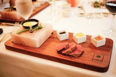 At Salt in The Ritz-Carlton, Amelia Island, our Steak and Eggs dish is served with a heated 250 million year old Himalayan salt block; allowing guests to cook and season their meal to perfection.