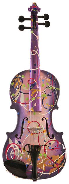 Splattered Viola: Looks cool!!                                                                                                                                                     More