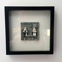 Framed Star Wars Lego