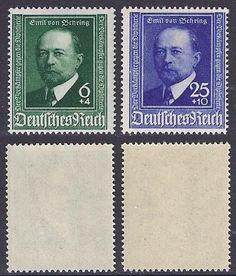 Deutsches Reich 1940  Mi.Nr: 760/761 - Emil von Behring
