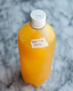 Summer Recipe: Fresh Peach Soda