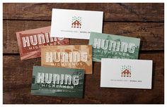 HUNING HIGHLANDS identity - Jesse Arneson, designer. Like the type treatment.
