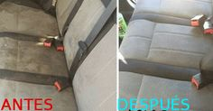 Best Homemade Car Upholstery Cleaner Cleaning car upholstery can be an easy or hard task it all depends on using the right cleaners for the job. Car Upholstery Cleaner, Cleaning Car Upholstery, Car Cleaning, Diy Cleaning Products, Spring Cleaning, Cleaning Hacks, Deep Cleaning, Cleaning Routines, Homemade Upholstery Cleaner