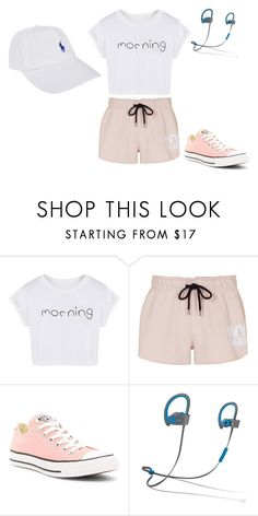 """""""Untitled #6"""" by jessica-winson ❤ liked on Polyvore featuring WithChic, Topshop, Converse, Beats by Dr. Dre and Polo Ralph Lauren"""