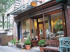 We love Cafe Grumpy! Located at 224 West 20th Street (between 7th and 8th Ave) it is the perfect local spot for a freshly brewed coffee!