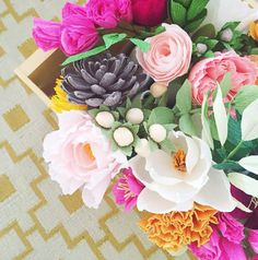 One of my favorite things about Instagram is how easy it is to find, follow and support small (or huge) communities of makers online. I've been working on a few posts that highlight specific materials, techniques and styles on Instagram, and today I'm starting with one of my favorite crafts: paper flowers.It's safe to say that any type of flower (fresh, paper, clay, etc.) is my favorite decorating tool, and I love the way that paper flower design has really taken off in the last few years…