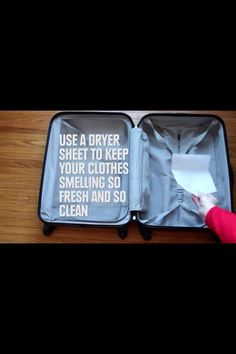 Great tip for travel!