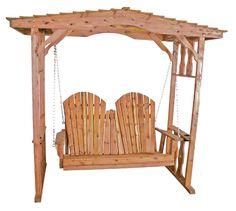 Swing Arbor Cedar