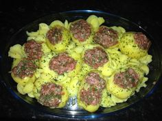 pommes de terre farci