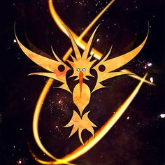 Thunder Bird #pokemon #pokemongo #zapdos #teaminstinct #instinct #thunder #bird #legendary #lightning #electric