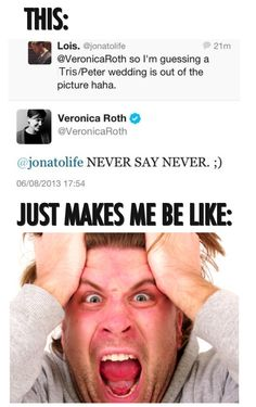 NO VERONICA DO NOT DO THIS TO ME YOU MAY NOT TOUCH FOURTRIS NEVER NEVER NEVER.