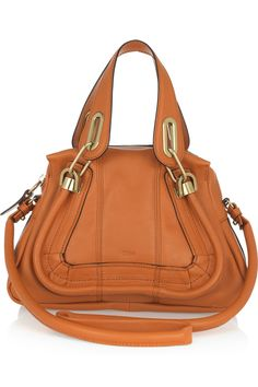 Chloe Paraty Small Leather Shoulder Bag