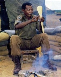 From 31/201bn Charlie Company (SWATF), a great leader and soldier who will not be forgotten Once Were Warriors, Army Day, Defence Force, Great Leaders, West Africa, Cold War, World War I, Armed Forces, Middle East