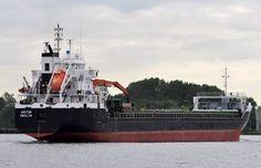 Voormalige Hudsonborg 22 juli 2015 op het Noordzeekanaal t.h.v. Velsen Zuid http://koopvaardij.blogspot.nl/2015/07/voormalige-hudsonborg.html