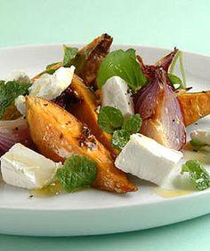 Kumara, feta and cumin salad