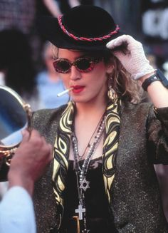 f85f82516a9 Credit  Cinetext Allstar Desperately Seeking Susan marked the beginning of the  singer s tortured quest for success on the silver screen.