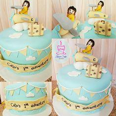 1st Adventure Cake Sweet Cakes, Fondant, Adventure, Fondant Icing, Adventure Nursery, Candy