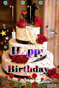 Happy Birthday Flowers Wishes, Birthday Wishes Songs, Happy Birthday Greetings Friends, Happy Birthday Cake Pictures, Happy Birthday Wishes Images, Happy Birthday Celebration, Happy Birthday Candles, Happy Birthday Gifts, Birthday Blessings