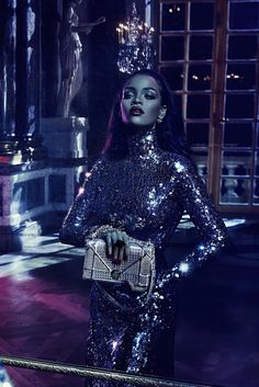 Fashion, Dior, Rihanna, DIOR Secret Garden Campaign featuring Rihanna