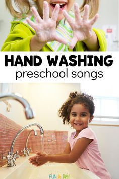 Hand Washing Songs and Videos for Kids Learning to Wash Their Hands - Teach your kids to wash their hands in a fun way – with songs! Here's an awesome list of youtub - Movement Preschool, Preschool Songs, Preschool Lesson Plans, Free Preschool, Kids Songs, Toddler Preschool, Preschool Teachers, Preschool Centers, Movement Activities