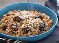 WILD MUSHROOM FARRO RISOTTO Farro Recipes: Dishes Using The Ancient Grain (PHOTOS)