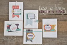 Stampin' Dolce: Tag a bag stamp a stack ~ Stampin' Up! Artisan Blog Hop