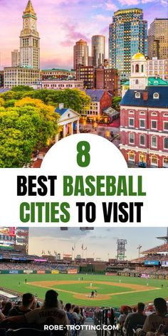 Find out more about these 8 amazing baseball cities in America and how to plan your sports travel to see a game. Baseball is an iconic part of America and American travel - so find out where you can visit the best baseball destinations in the United States #AmericaTravel #Baseball #MLB #VisitAmerica #USAtravel Usa Travel Guide, Travel Usa, Travel Tips, Best Places To Travel, Cool Places To Visit, United States Travel, Ultimate Travel, Mexico Travel, Canada Travel