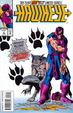 Hawkeye Vol. 2 # 2 by Scott Kolins & Tim Dzon