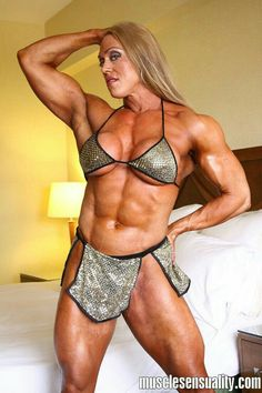 Colette guimond female muscle can not