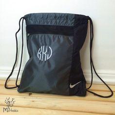 733f8e632 10 Personalized Nike Cinch Bags, Cinch Backpack, Custom Golf Cinch Sack,  Groomsmen gift