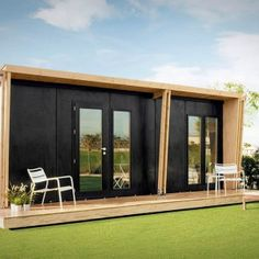 VIVOOD prefab minicottage. Garden retreat? Guest house for the in-laws?