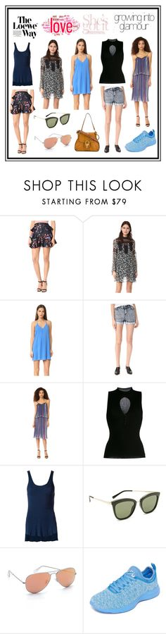 """The Way 2 new Fashion"" by cate-jennifer ❤ liked on Polyvore featuring Cynthia Rowley, Anna Sui, Alice + Olivia, Little White Lies, Twin-Set, Osklen, Le Specs, Ray-Ban, Athletic Propulsion Labs and Loewe"