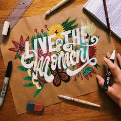 Inspiring and strong typography quotes can be an efficient solution for your workspace decoration. You can keep yourself motivated with style. Hand Lettering Quotes, Creative Lettering, Typography Quotes, Typography Inspiration, Lettering Design, Calligraphy Letters, Typography Letters, Art Hoe Aesthetic, Word Design
