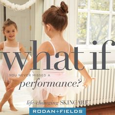 Being an Independent Consultant means you don't have to choose between holiday recitals and your Rodan + Fields business. As a rising entrepreneur, you set the stage for success. #LifeChangingSkincare
