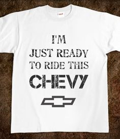 Jason Aldean - Take a Little Ride | hate chevys, but would wear this shirt. |