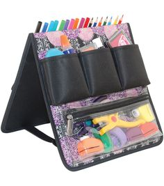 Everything Mary Scrapbook Purple Pink Easel