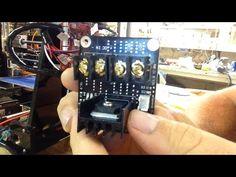 Anet A8 3D printer E3D V6 phone stand print - YouTube