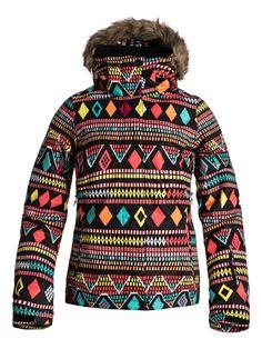 Roxy W Jet Ski Indies Jacket - http://www.skikleding-winkels-online.nl - Alles op gebied van skikleding in 1 overzicht!