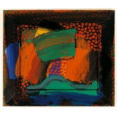 Howard Hodgkin - Howard Hodgkin was born in London in 1932 and attended Camberwell School of Art and the Bath Academy of Art, Corsham. In he represented Britain at t. Abstract Painters, Abstract Art, Howard Hodgkin, Collages, English Artists, British Artists, Painting & Drawing, Painting Styles, Drawing Tips