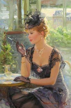 Beautiful Painting by Konstanin Razumov