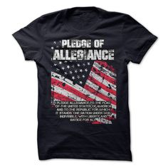 FLAG DAY PLEDGE OF ALLEGIANCE ==> You want it? #Click_the_image_to_shopping_now