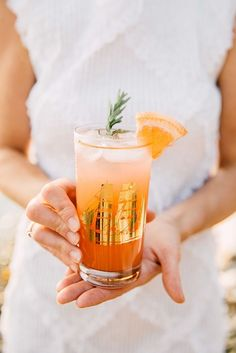 Grapefruit and lime cocktail