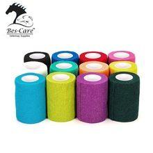 [Outdoor Sports] Horse care Vet wrap Equestrian Bandage Cohesive Elastic bandage Non woven Cohesive Bandage