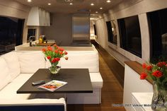 Custom RV designer interior modern | Volkner Mobil Performance: The world's best motorhome? - National ...