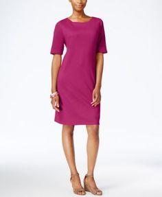 Karen Scott Petite T-Shirt Dress, Only at Macy's | macys.com